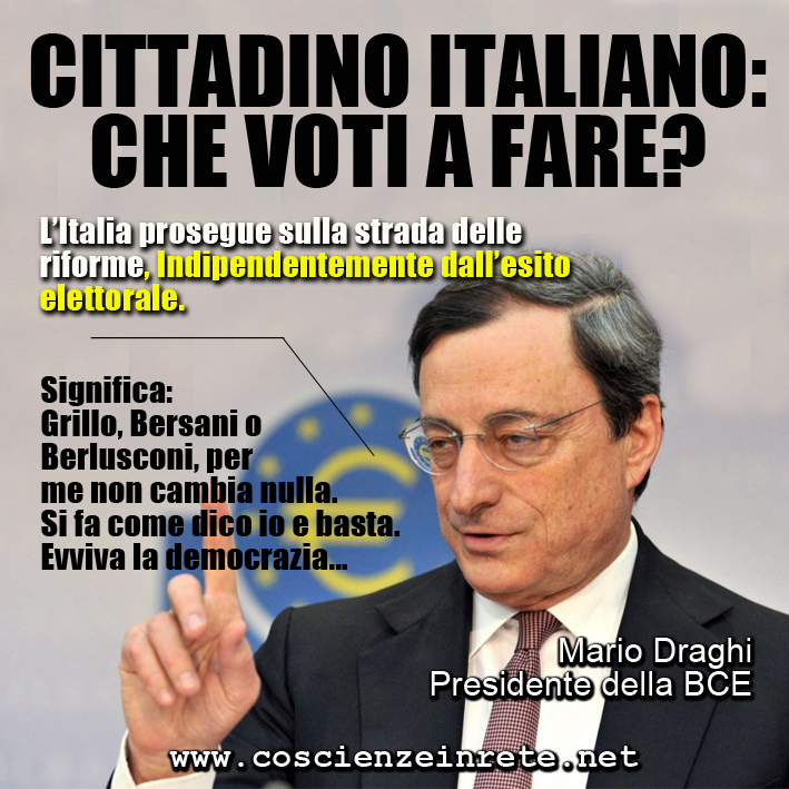 CIR draghi